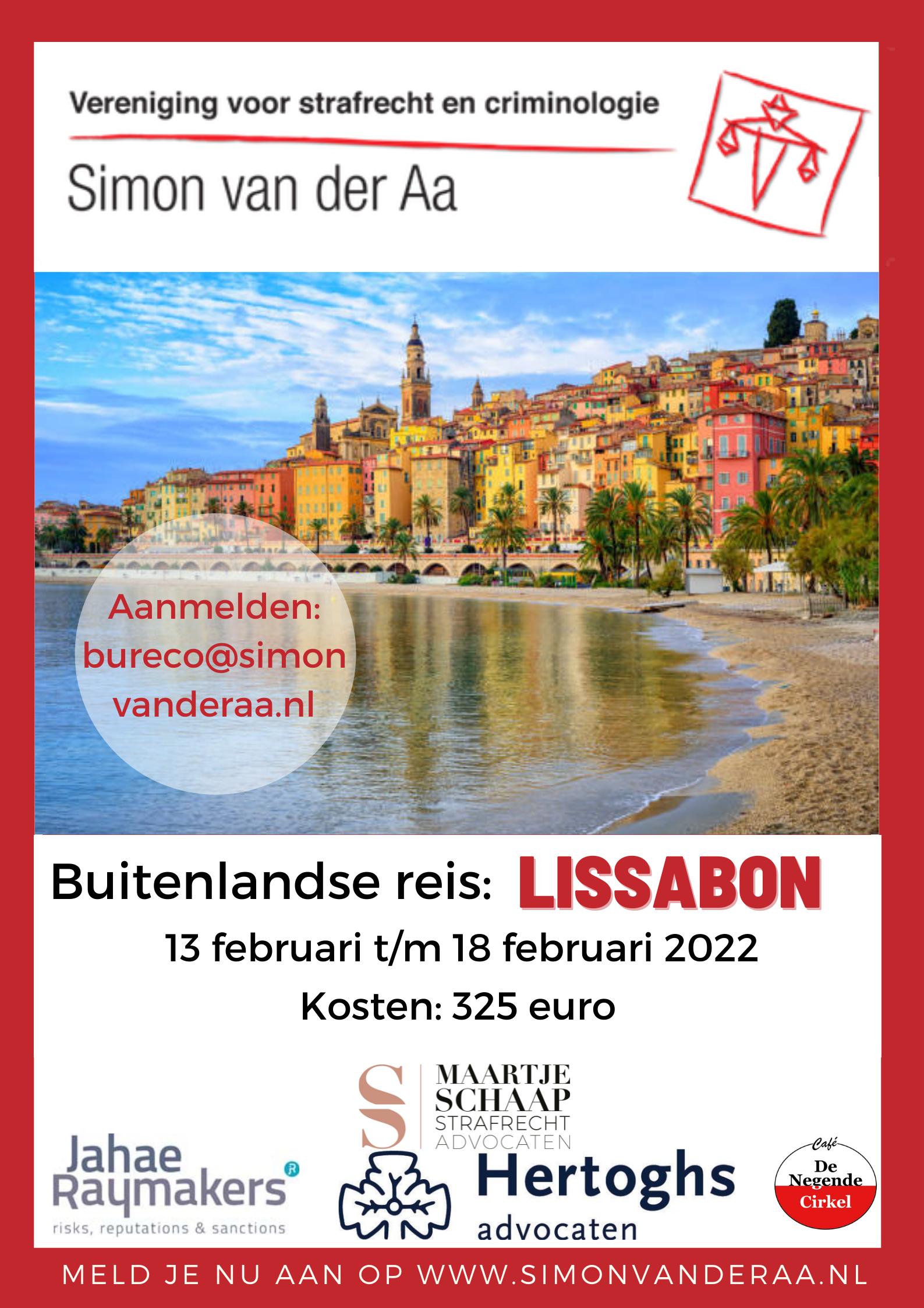 Buitenlandse Reis Lissabon