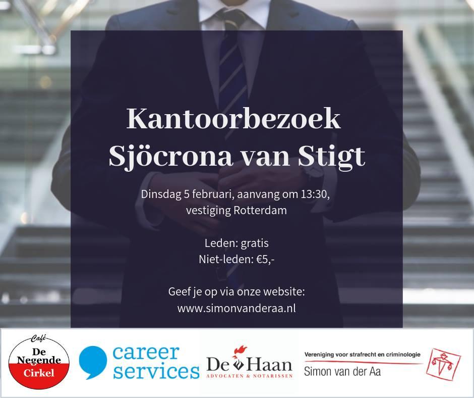 Kantoorbezoek Sjöcrona van Stigt