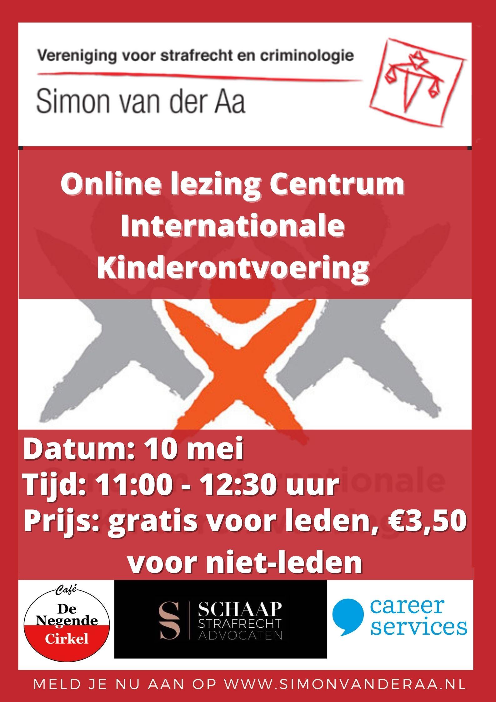Online lezing Centrum Internationale Kinderontvoering