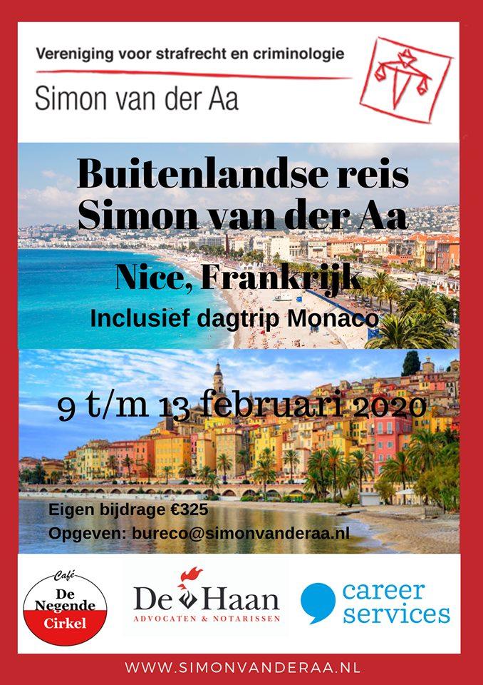 Buitenlandse reis naar Nice