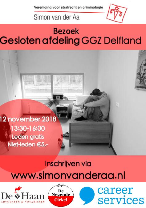 Bezoek gesloten afdeling GGZ Delfland