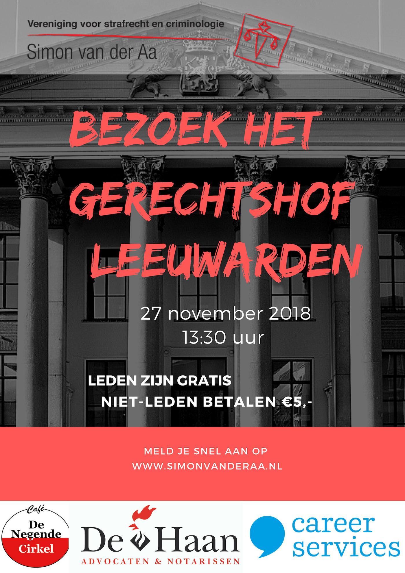 Bezoek Gerechtshof Leeuwarden
