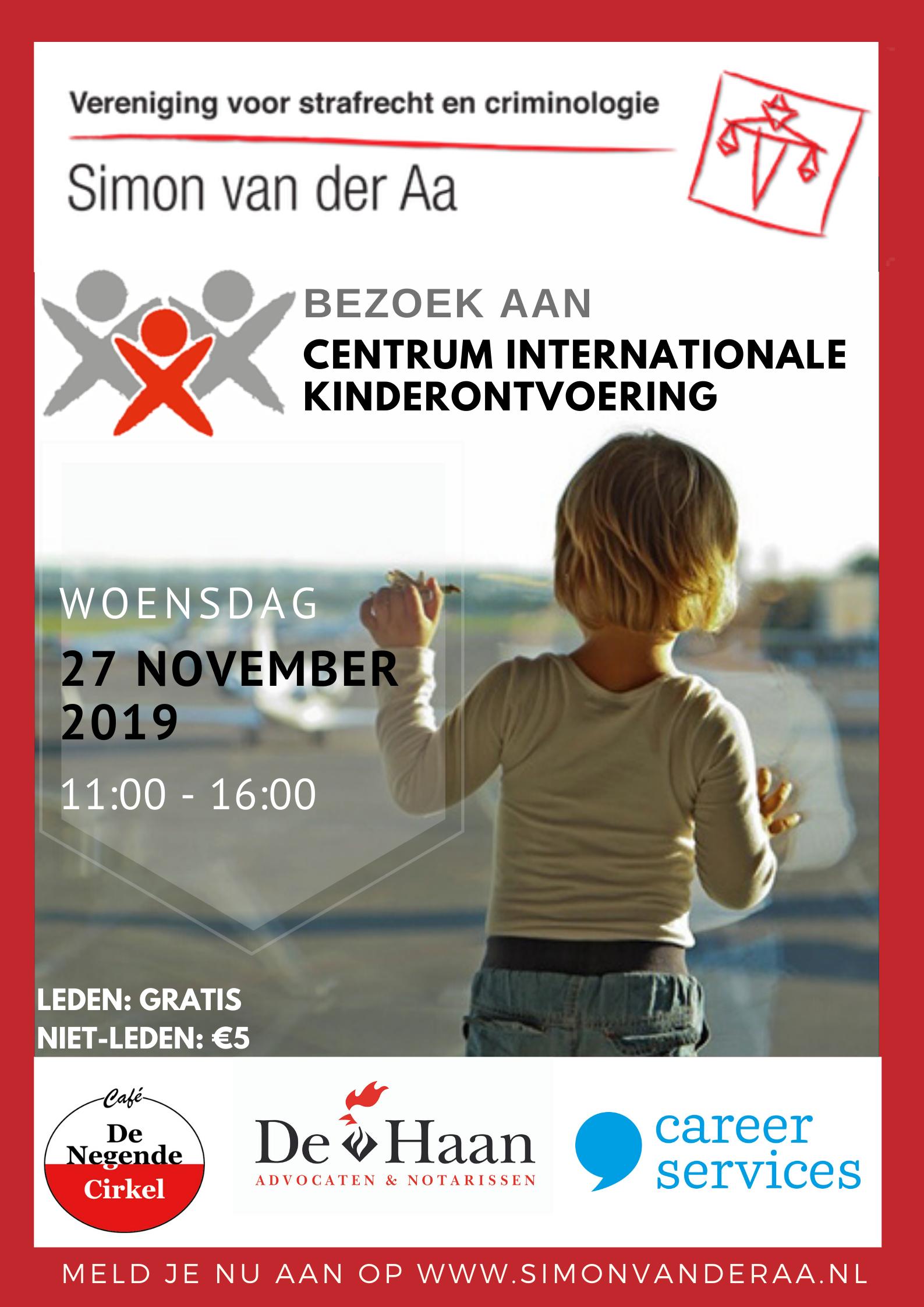 Bezoek Centrum Internationale Kinderontvoering