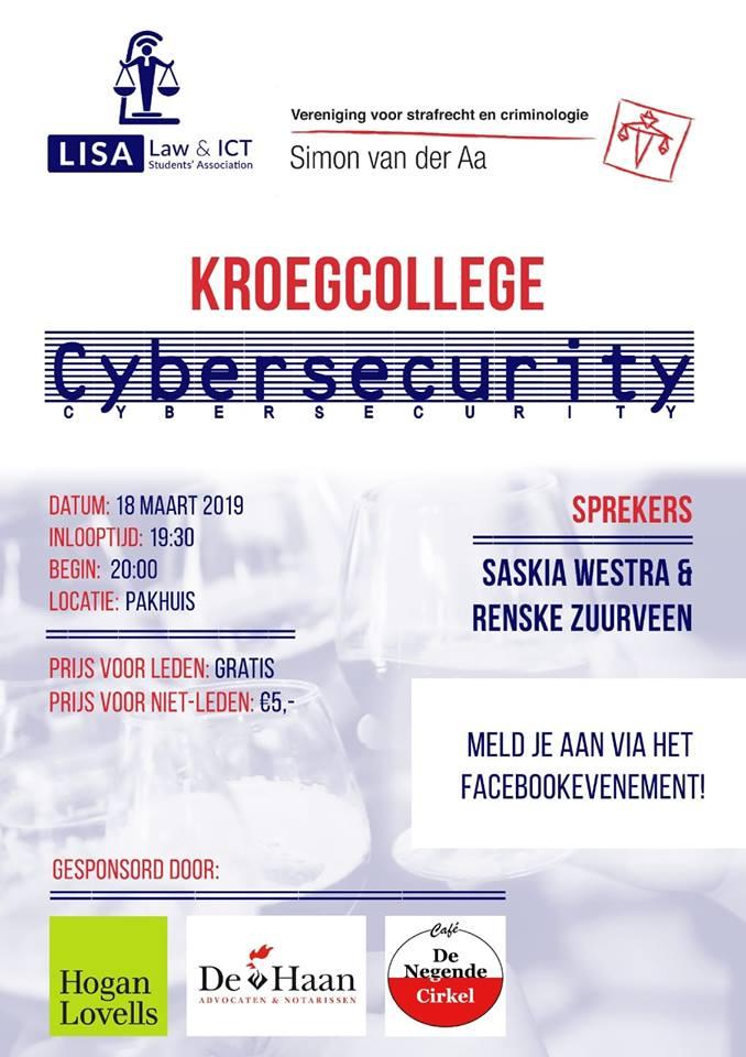 Kroegcollege met LISA: cybersecurity