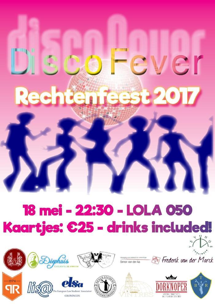 Rechtenfeest Disco Fever