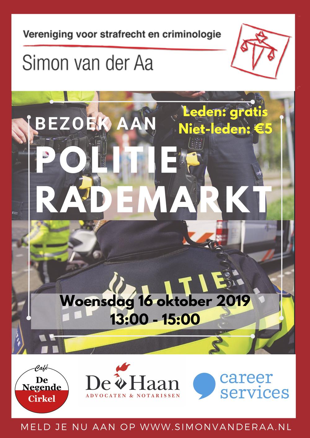 Bezoek politie Groningen